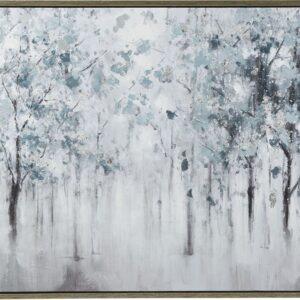 Breckin - Blue/Gray/White - Wall Art 1