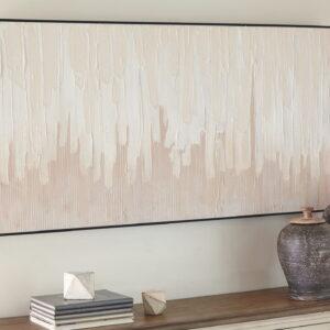 Jennaya - Tan/White - Wall Art