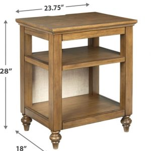 Brickwell - Beige/Brown - Accent Table 1