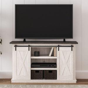 Dorrinson - Two-tone - Medium TV Stand