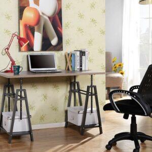 Irene - Gray - Adjustable Height Desk 1