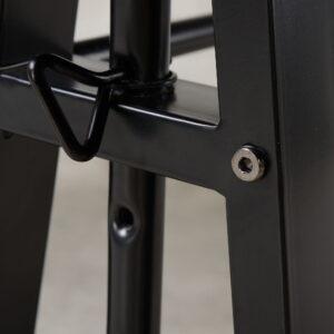 Irene - Dark Brown - Adjustable Height Desk 1