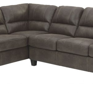 Navi - Smoke - LAF Corner Chaise & RAF Sofa Sectional