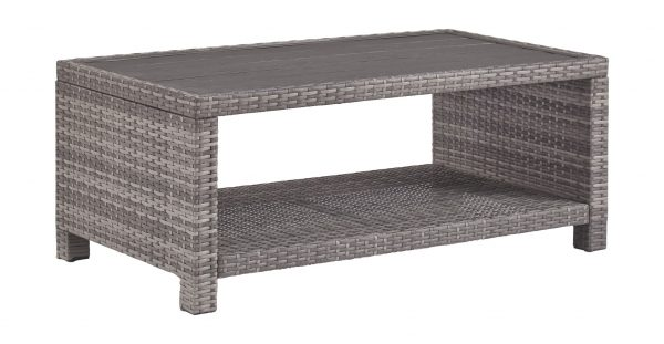 Salem Beach - Gray - Rectangular Cocktail Table