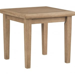 Gerianne - Grayish Brown - Square End Table 1