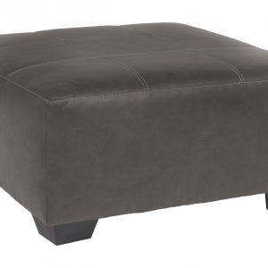 Aberton - Gray - Oversized Accent Ottoman