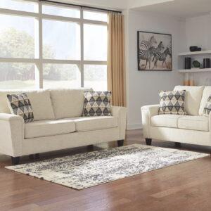 Abinger - Natural - Sofa & Loveseat
