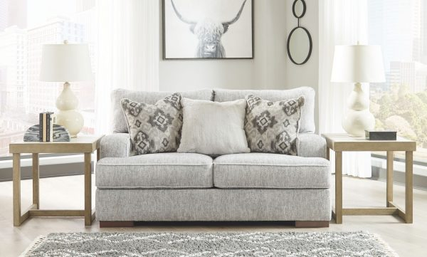 Mercado - Pewter - Sofa & Loveseat 1