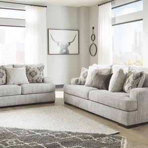 Mercado - Pewter - Sofa & Loveseat