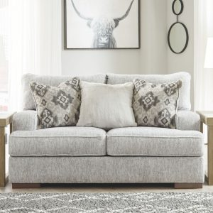 Mercado - Pewter - Loveseat 1