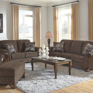 Miltonwood - Teak - Sofa & Loveseat 1