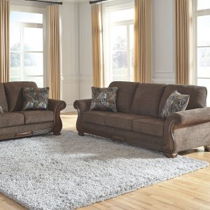 Miltonwood - Teak - Sofa & Loveseat