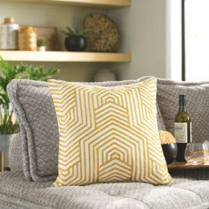 Adrik - Golden Yellow - Pillow (4/CS)