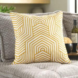 Adrik - Golden Yellow - Pillow 1
