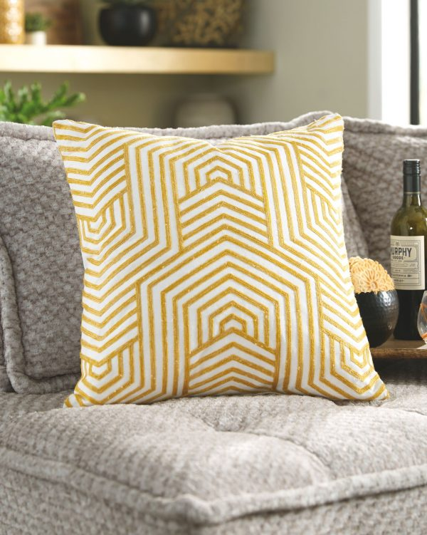 Adrik - Golden Yellow - Pillow 1