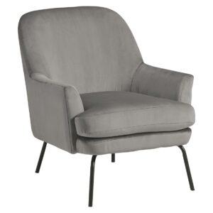 Dericka - Steel - Accent Chair 1