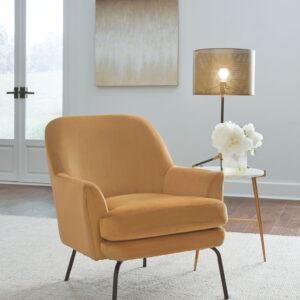 Dericka - Gold - Accent Chair
