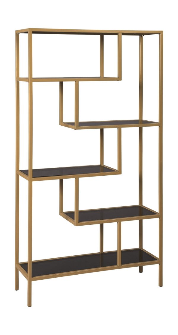 Frankwell - Gold Finish - Bookcase 1