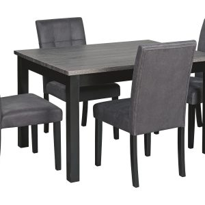 Garvine - Two-tone - RECT DRM Table Set (5/CN) 1