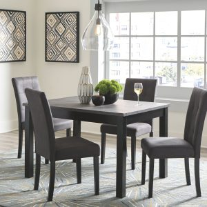 Garvine - Two-tone - RECT DRM Table Set (5/CN)