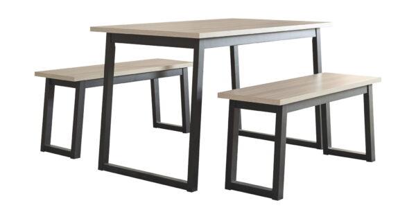 Waylowe - Two-tone - RECT DRM Table Set (3/CN) 1