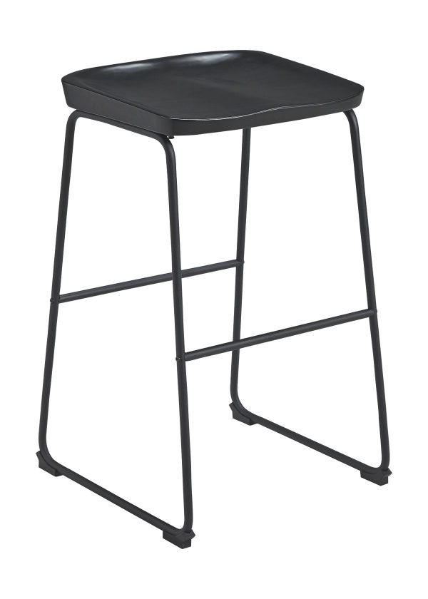 Showdell - Black - Tall Barstool (2/CN) 1