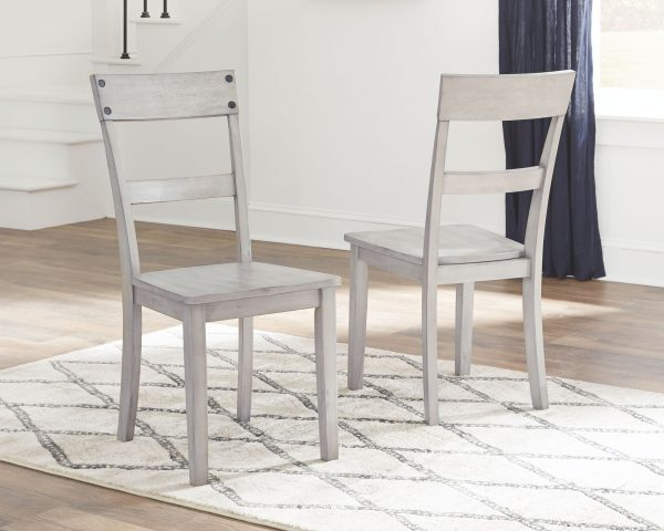 Loratti - Gray - Dining Room Side Chair (2/CN) 2