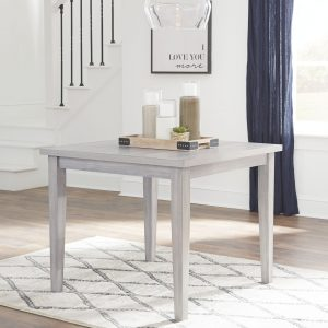 Loratti - Gray - Square Dining Room Table