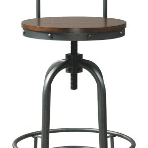 Odium - Brown - Tall Swivel Barstool (2/CN) 1
