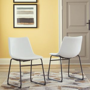 Centiar - White - Dining UPH Side Chair (2/CN)