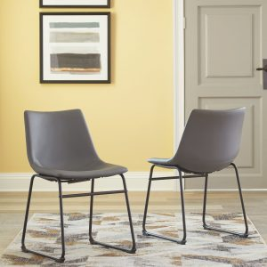 Centiar - Gray - Dining UPH Side Chair (2/CN)