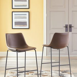 Centiar - Brown - Tall UPH Barstool (2/CN)