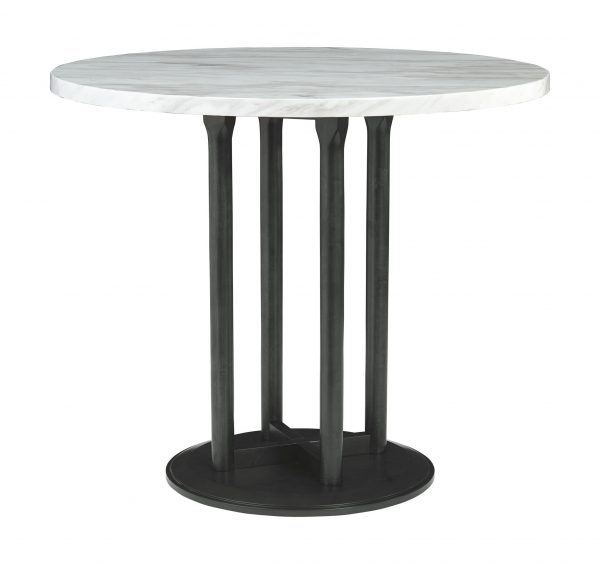 Centiar - Two-tone - 5 Pc. - DRM Table & 4 UPH Barstools 2