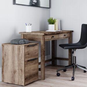 Arlenbry - Gray - Home Office Desk 1