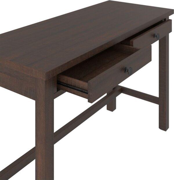 Camiburg - Warm Brown - Desk, File Cabinet & Swivel Desk Chair 2