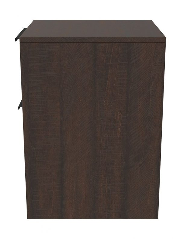 Camiburg - Warm Brown - Desk, File Cabinet & Swivel Desk Chair 4