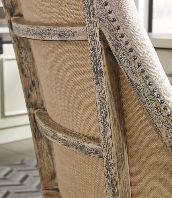 Camiburg - Warm Brown - Desk, File Cabinet & Swivel Desk Chair 6