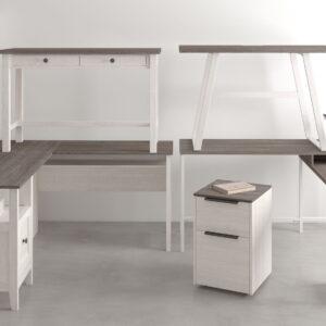 Dorrinson - Two-tone - Home Office Desk 1
