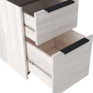 Dorrinson - Two-tone - File Cabinet 1
