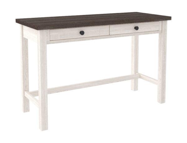 Dorrinson - Two-tone - Desk, File Cabinet & Swivel Desk Chair 2