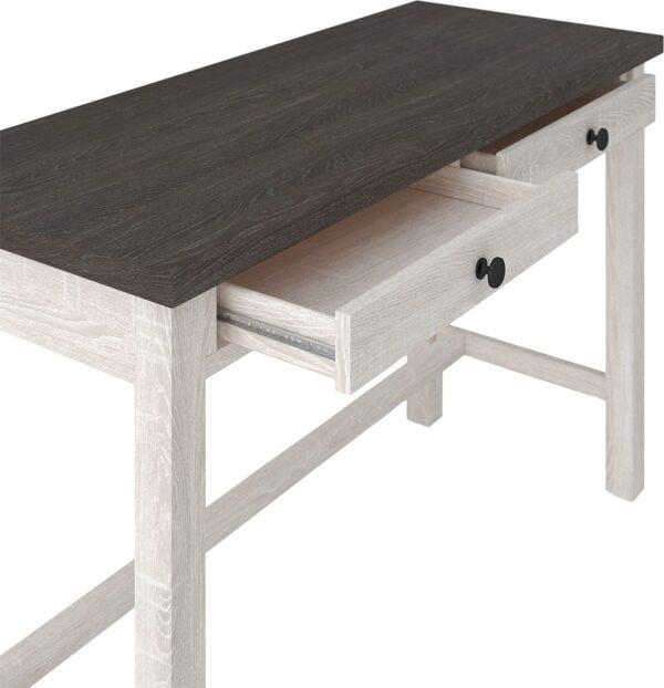 Dorrinson - Two-tone - Desk & Swivel Desk Chair 1