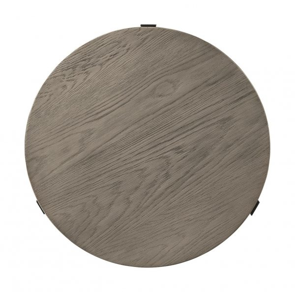 Zontini - Light Brown - Round End Table 2