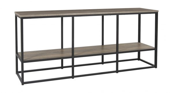 Wadeworth - Brown/Black - Extra Large TV Stand 1