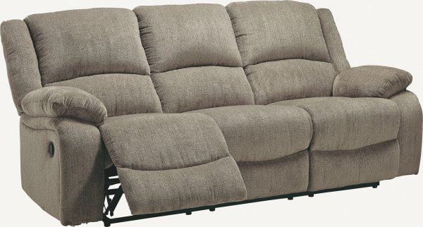 Draycoll - Pewter - Reclining Sofa 1