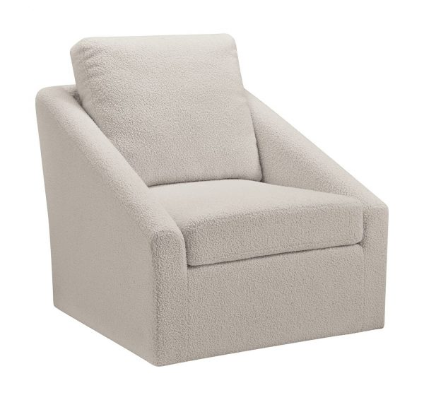 Wysler - Cream - Swivel Accent Chair 2
