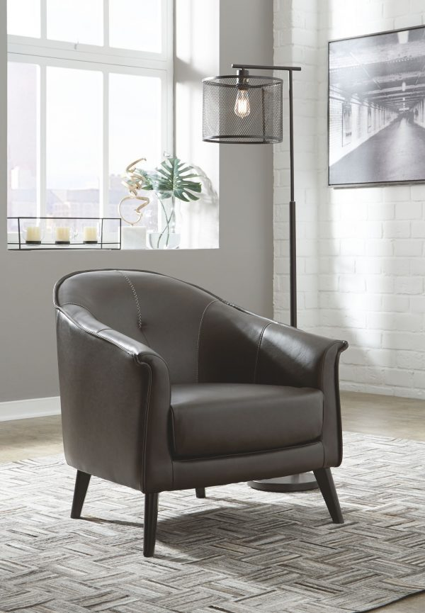 Brickham - Dark Brown - Accent Chair