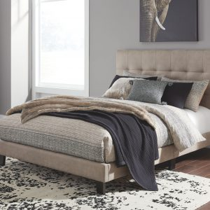 Adelloni - Light Brown - Queen UPH HDBD/FTBD/Roll Slats