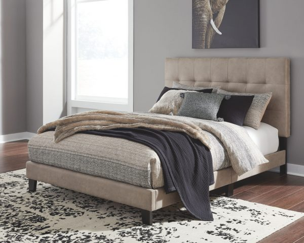 Adelloni - Light Brown - King UPH HDBD/FTBD/Roll Slats