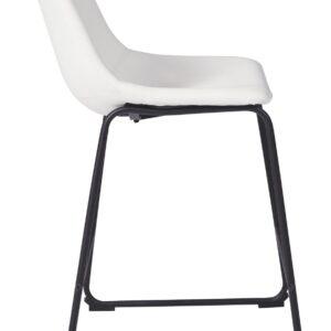 Centiar - White - Upholstered Barstool (2/CN) 1
