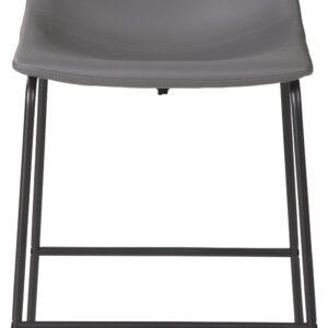 Centiar - Gray - Upholstered Barstool (2/CN) 1